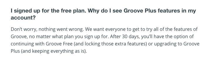 Groove-Freemium