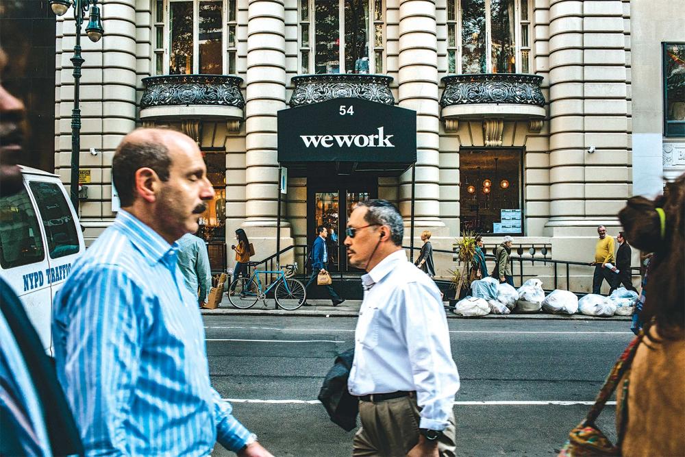 WeWork coworking trends