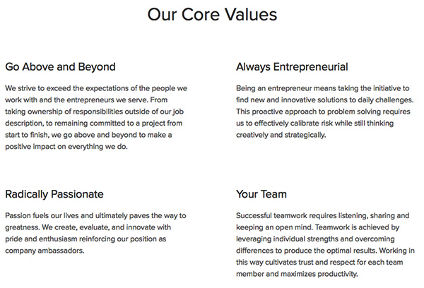 grasshopper-core-values
