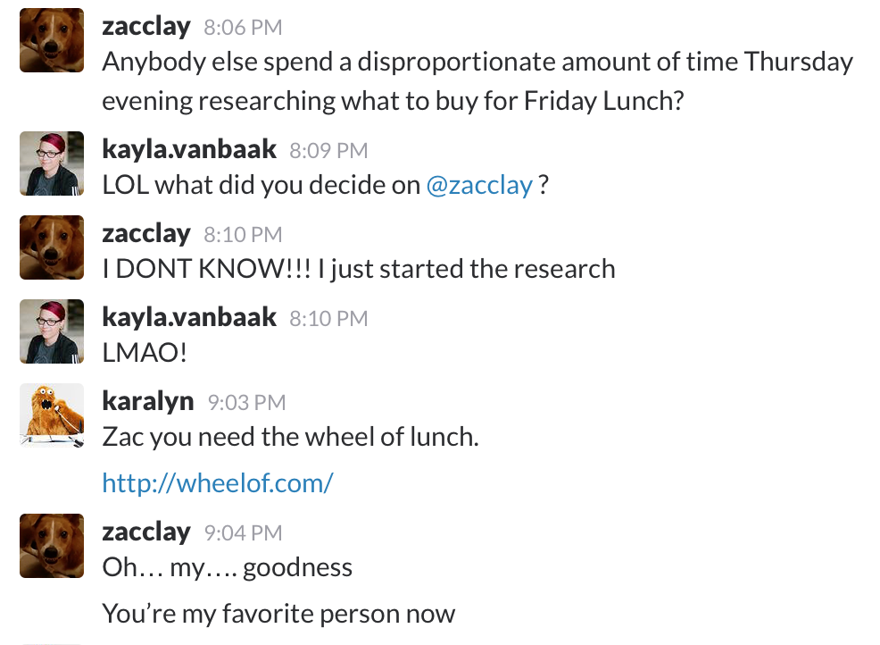 free lunch friday Chargify