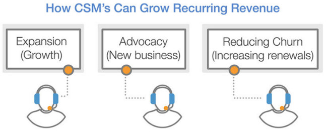 customer success grows recurring revenue