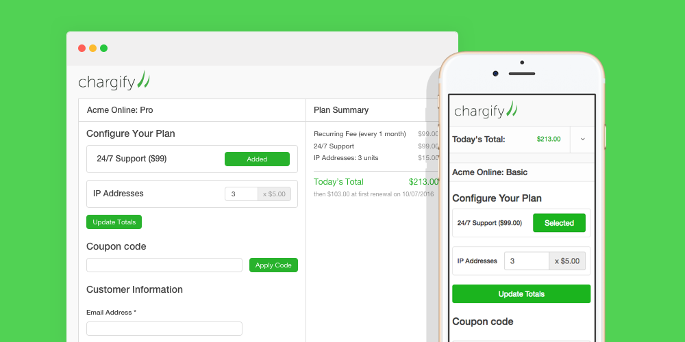 Redesigned Public Signup Pages: They're Beautiful, Mobile Friendly, And Optimized To Convert More Customers