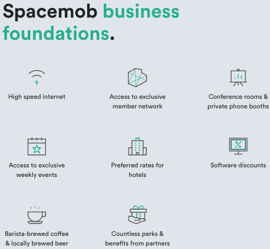 spacemob benefits