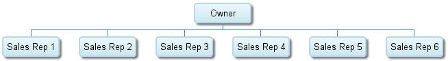individual island sales team model