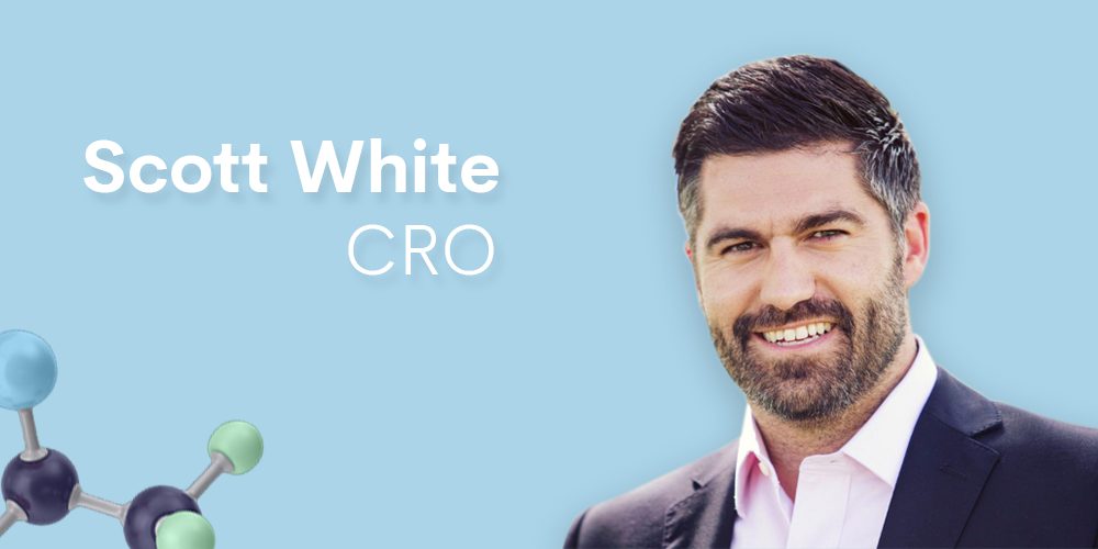 Featured image for blog announcing Scott White as CRO