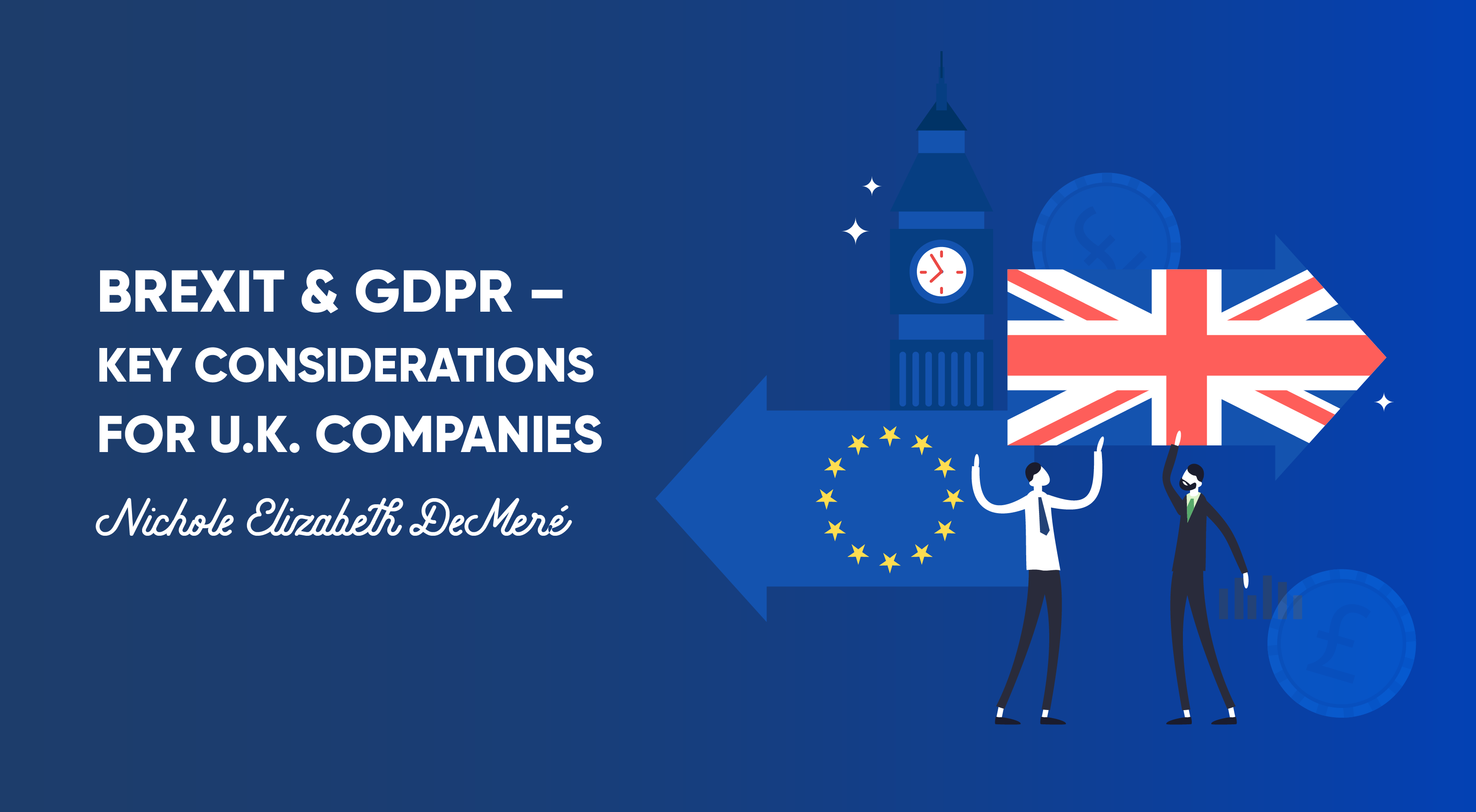 Featured image for blog about GDPR considerations for U.K. SaaS companies