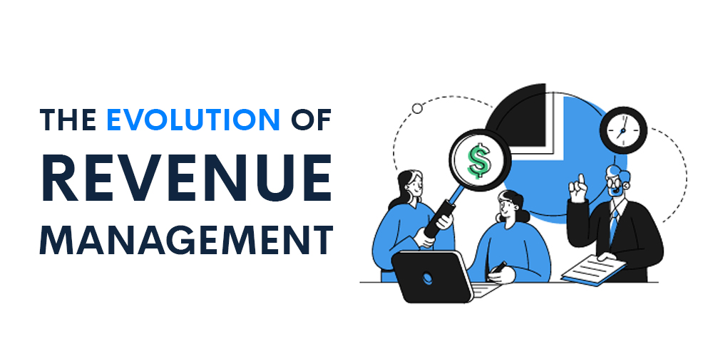 Image introducing the evolution of revenue management