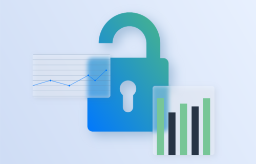 Open lock and event data graphs