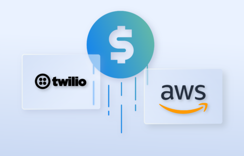 AWS and Twillio pricing models
