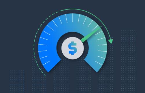 Usage Based Billing representation like a dial